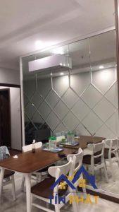 Những mẫu gương trang trí Long An cho phòng ăn thêm bắt mắt